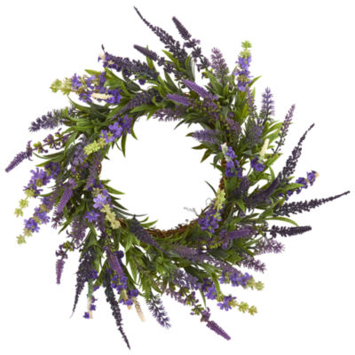 "18"" Lavender Wreath"