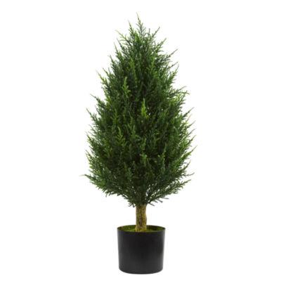 3' Cypress Tower Artificial Tree UV Resistant (Indoor/Outdoor)