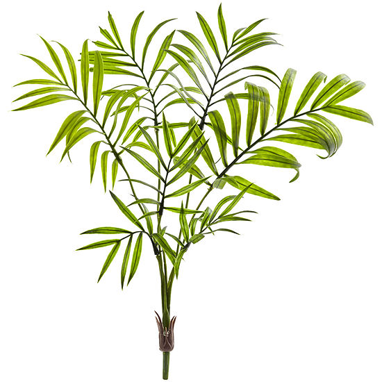 Mini Areca Palm Artificial Bush; Set of 8