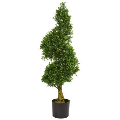 4' Spiral Boxwood Artificial Tree UV Resistant (Indoor/Outdoor)