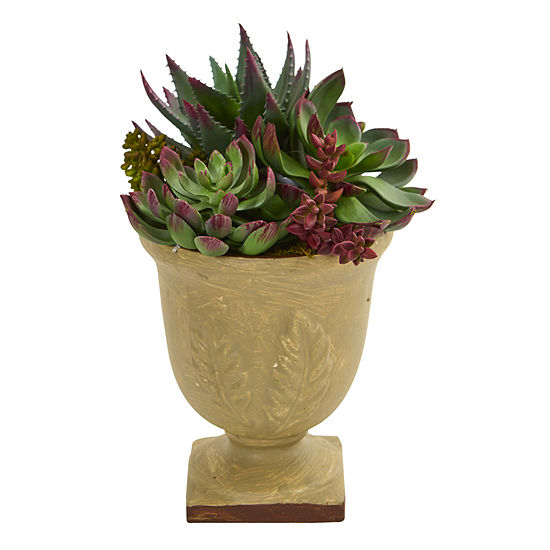 "12"" Mixed Succulent Artificial Plant"
