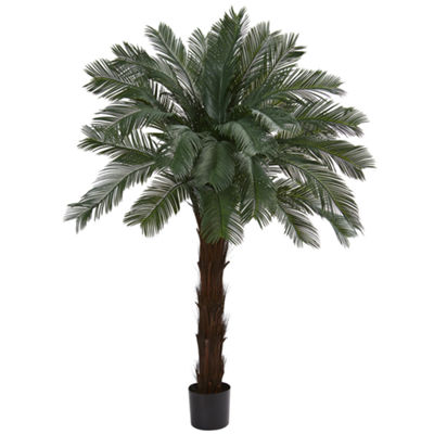 6' Cycas Artificial Tree; UV Resistant (Indoor/Outdoor)