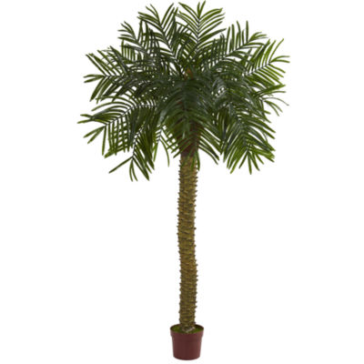 7' Prickly Palm Artificial Tree; UV Resistant (Indoor/Outdoor)