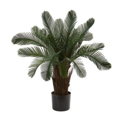 2' Cycas Artificial Tree; UV Resistant (Indoor/Outdoor)