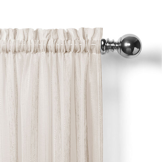 Home Expressions Noah Rod-Pocket Valance