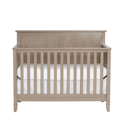 Suite Bebe Asher 4-in-1 Convertible Crib - Blossom Grey