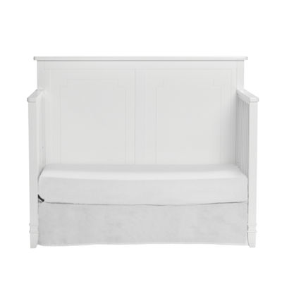 Suite Bebe Asher 4-in-1 Convertible Crib - White