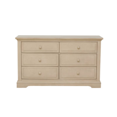 Centennial Chatham 6 Drawer Double Dresser - Driftwood