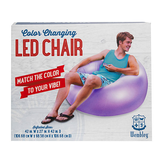 Wembley™ Inflatable LED Chair
