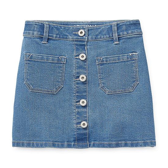 Arizona Girls Short Denim Skirt