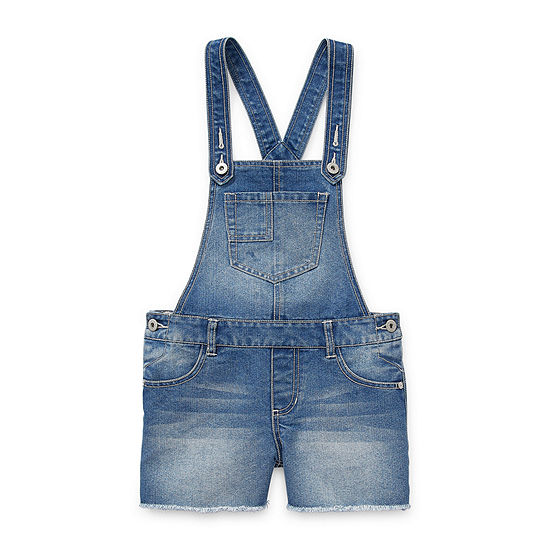 Arizona Little & Big Girls Shortalls