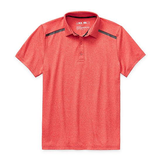 Msx By Michael Strahan Little Kid / Big Kid Boys Short Sleeve Polo Shirt