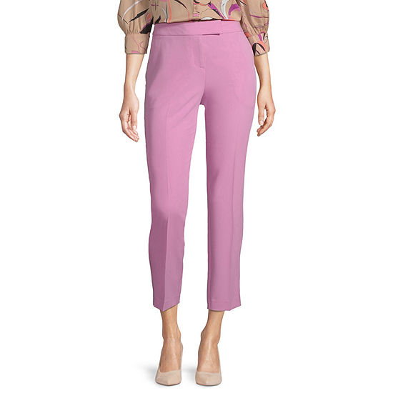 Worthington Womens Ankle Trouser - Tall