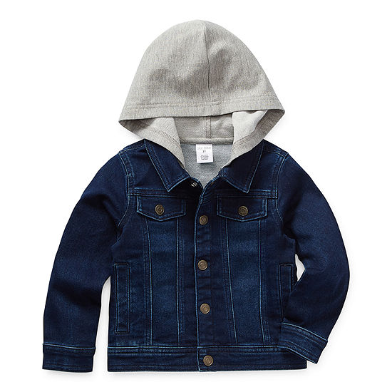 Okie Dokie Toddler Boys Denim Jacket