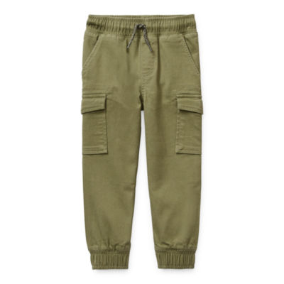 Okie Dokie Toddler Boys Slim Cargo Pant