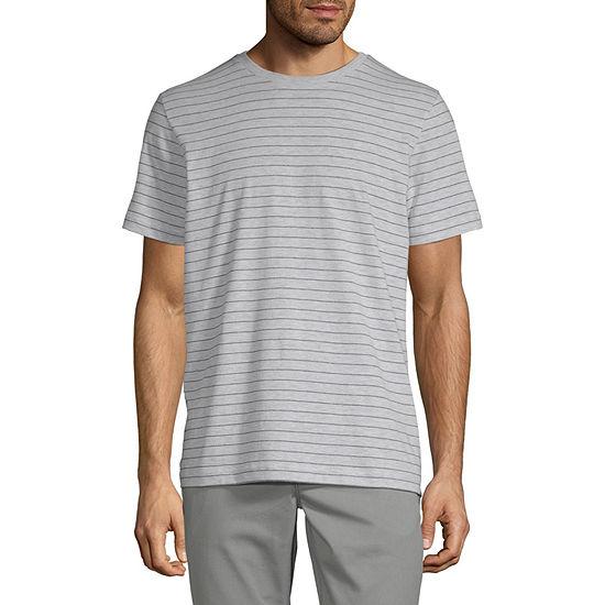 St. John's Bay Mens Crew Neck Short Sleeve T-Shirt
