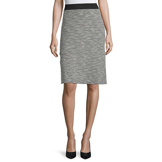 Liz Claiborne Womens A-Line Skirt