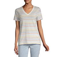 A.N.A Womens Round Neck Short Sleeve T-Shirt
