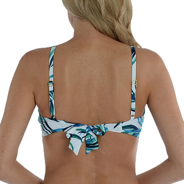 Sonnet Shores Leaf Bra Bikini Swimsuit Top