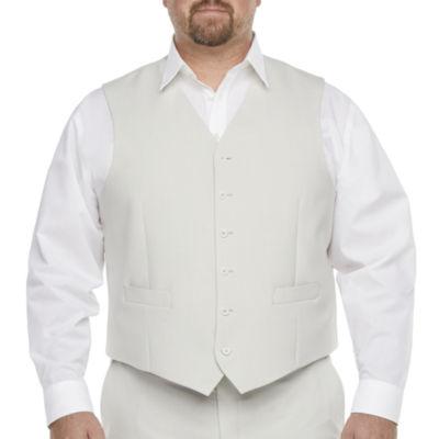 JF J.Ferrar 360 Mens Classic Fit Suit Vest - Big and Tall