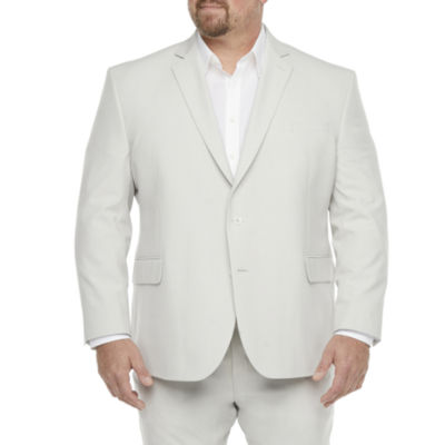 JF J.Ferrar 360 Mens Classic Fit Suit Jacket-Big and Tall