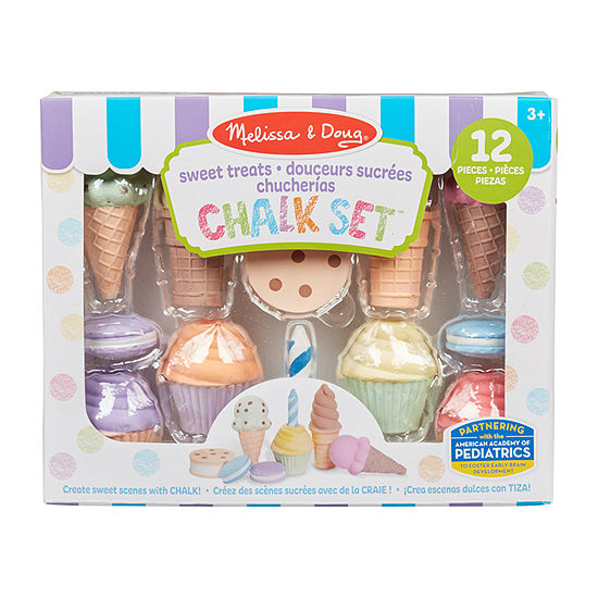 Melissa & Doug Ice Cream And Cake Chalk Set