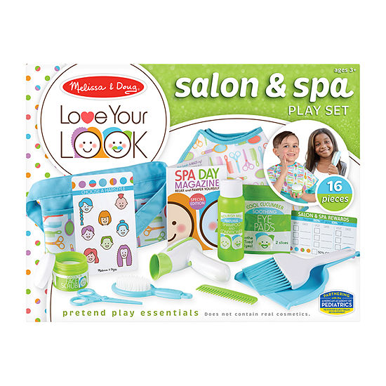 Melissa & Doug Love Your Look - Salon & Spa Play Set