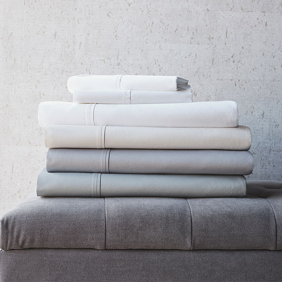 Loom + Forge 625TC Supima Cotton Sheet Set