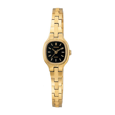 Pulsar® Womens Gold-Tone Stainless Steel Watch PPH552