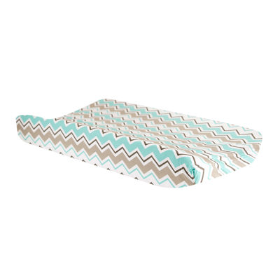 Trend Lab® Seashore Waves Chevron Changing Pad Cover