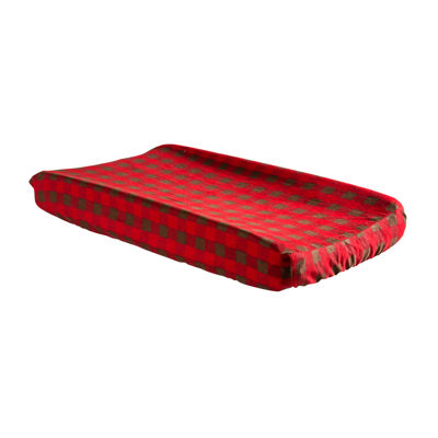 Trend Lab® Northwoods Buffalo Check Changing Pad Cover