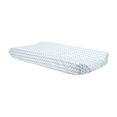 Trend Lab® Blue Sky Chevron Changing Pad Cover