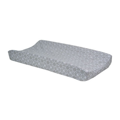 Trend Lab® Gray and White Circle Changing Pad Cover