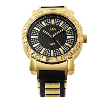 JBW 562 Mens 1/8 CT. T.W. Diamond Two-Tone Watch JB-6225-J