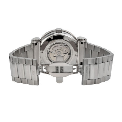Croton Mens Gray Dial Stainless Steel Bracelet Watch