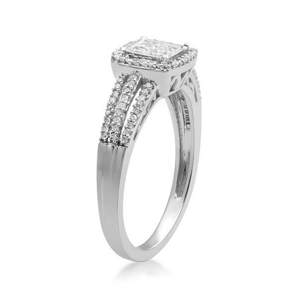 LIMITED QUANTITIES 1/3 CT. T.W. Diamond 10K White Gold Ring