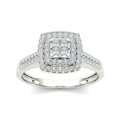 1/2 CT. T.W. Diamond 14K  Gold Engagement Ring