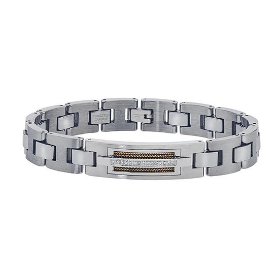 Mens 1/10 CT. T.W. Diamond Chain Bracelet