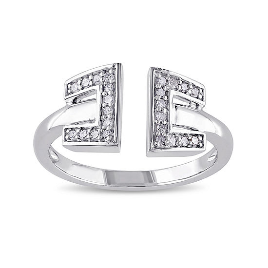 1/8 CT. T. W. Diamond Sterling Silver Ring