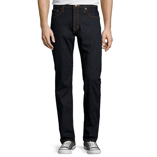 Arizona Men's Flex Slim Straight Jeans