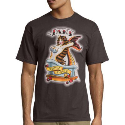 Vans® Short-Sleeve Queen Triton T-Shirt