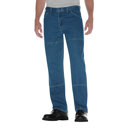 Dickies® 15293 Relaxed Straight Double-Knee 6-Pocket Jeans
