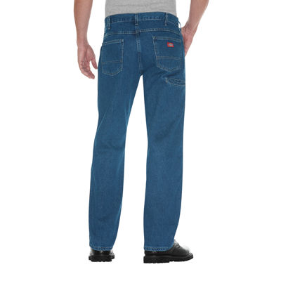 Dickies® Relaxed Straight Double-Knee 6-Pocket Jeans
