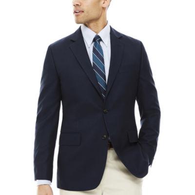 Stafford® Travel Box Weave Sport Coat - Classic Fit