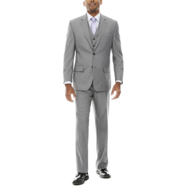 jcpenney.com | IZOD® Sharkskin Suit Separate-Classic Fit