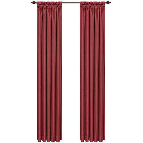 Jasper Lined Rod-Pocket Curtain Panel