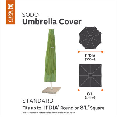 Classic Accessories® Sodo 11' Round Umbrella Cover