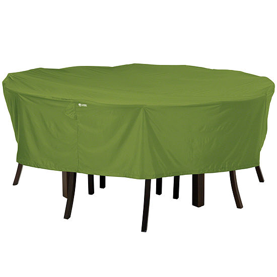 Classic Accessories Sodo Large Round Table 6 Chairs Cover