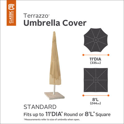 Classic Accessories® Terrazzo 11' Round Umbrella Cover