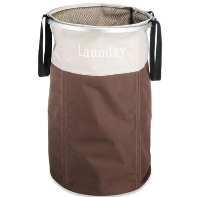 Whitmor Easy Care Laundry Hamper Java